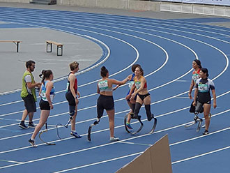 blade runners at world para athletics grand prix in Paris