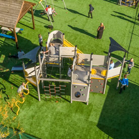 UniPlay bespoke playground structure