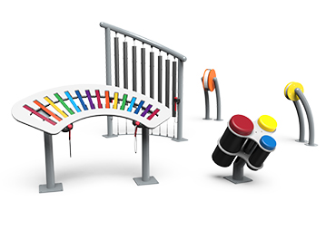 outdoor playground musical instruments