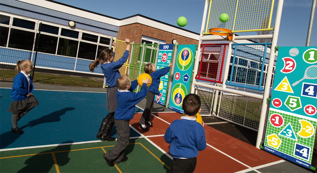 primary arena multisports courts for children